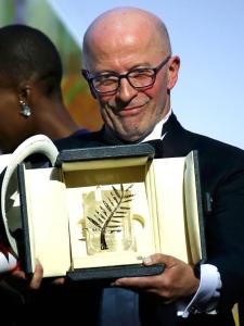 Jacques Audiard et sa palme d'or