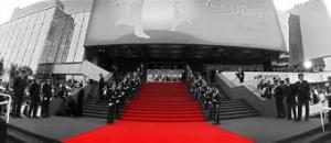 Le fameux tapis rouge des marches du palais des festivals